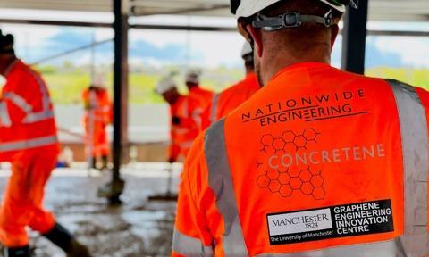 Ułożono pierwszą powierzchnię z betonu z grafenem