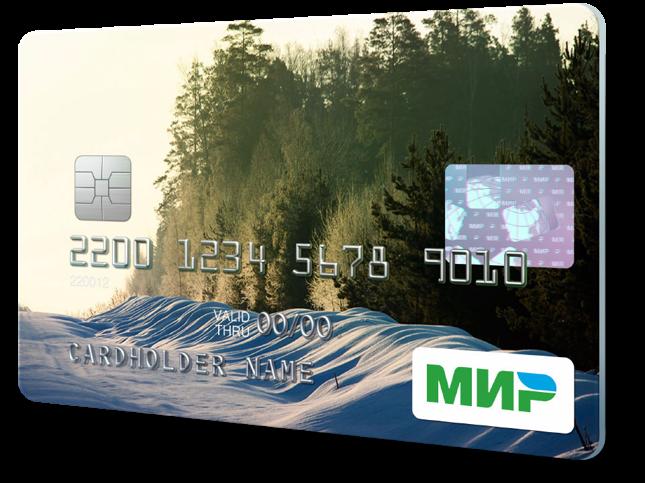 """Rosyjska krajowa karta płatnicza """"MIR"""""""