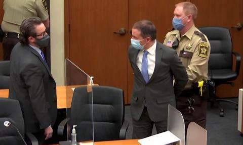 Derek Chauvin skazany na 22,5 roku więzienia za zabójstwo George'a Floyda