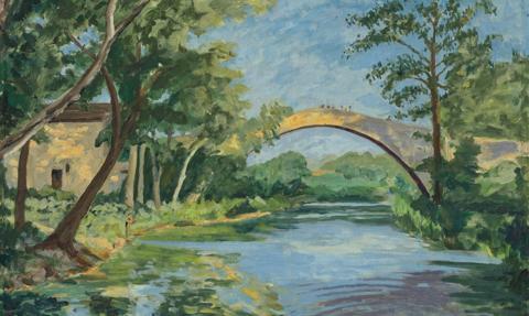 Obraz namalowany przez Winstona Churchilla sprzedany za ponad 2 mln dol.