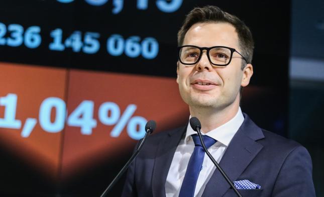 Prezes Wirtualnej Polski Jacek Świderski