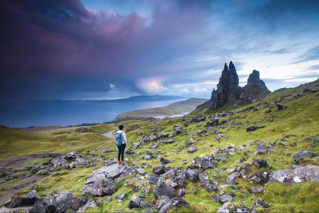 Wyspa Skye - 1200 funtów i 6 miesięcy samotności