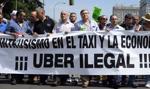 Uber wnosi do KE skargi na przepisy państw UE chroniące taksówkarzy
