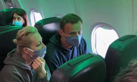 Aleksiej Nawalny zatrzymany na lotnisku Szeremietiewo w Moskwie