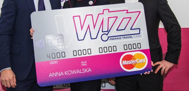 Wielowalutowa Karta WIZZ Prepaid Travel Card