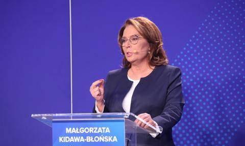 Wicemarszałek Sejmu Małgorzata Kidawa-Błońska zakażona koronawirusem