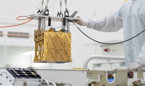 Udany eksperyment uzyskania czystego tlenu z atmosfery Marsa