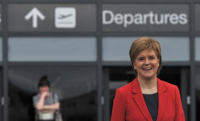 Szefowa szkockiego rządu Nicola Sturgeon