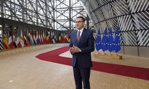 """Premier Morawiecki o szczycie UE. """"Bardzo dobry budżet dla Polski"""""""