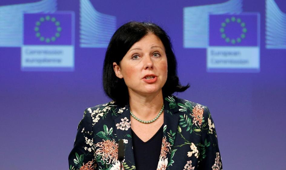 """Jourova: """"Repolonizacja mediów"""" sprzeczna z europejskimi wartościami"""