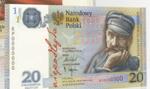 Banknot 20 zł z Piłsudskim na 100. rocznicę odzyskania niepodległości