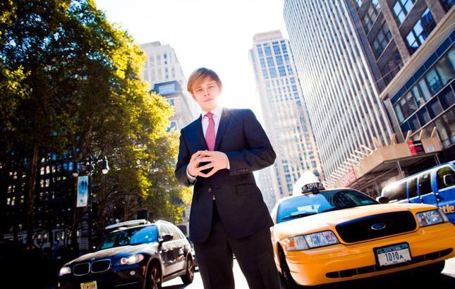 Daniel Daszkiewicz - Polak w Nowym Jorku (na zdj. pierwsze tygodnie w USA)