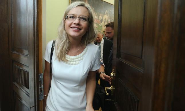 Szefowa komisji Małgorzata Wassermann