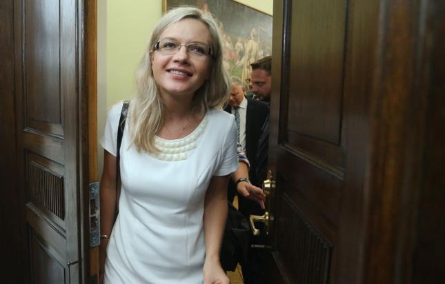 Przewodnicząca komisji ws. Amber Gold Małgorzata Wasserman