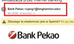 Klienci Banku Pekao SA na celowniku oszustów