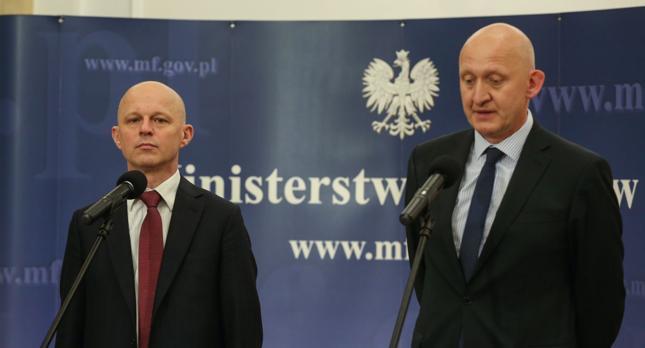 Paweł Szałamacha i Piotr Kociński