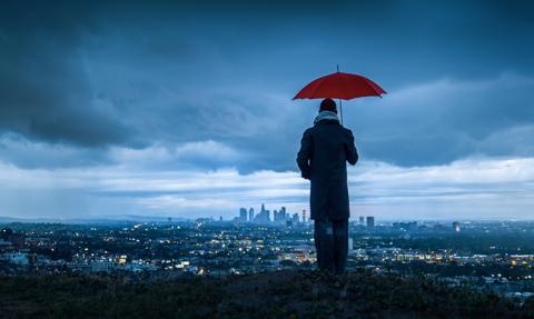 Potężna burza w Kalifornii. Ostrzeżenie przed największymi w historii opadami