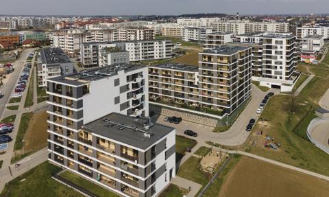 Duże mieszkania podrożały najmocniej. Popyt napędza mieszkaniówkę i ceny