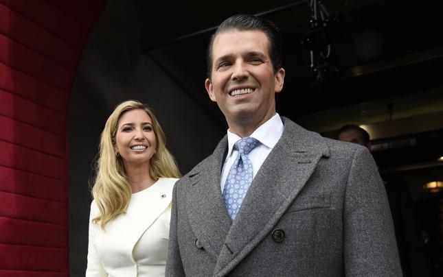 Donald Trump Junior i Ivanka Trump