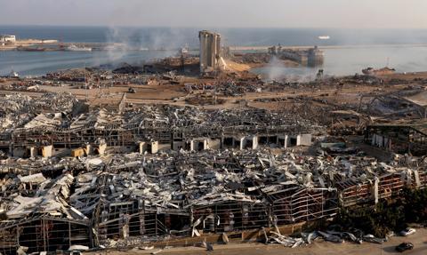 Straty po wybuchu w Bejrucie przekraczają 15 mld dol.