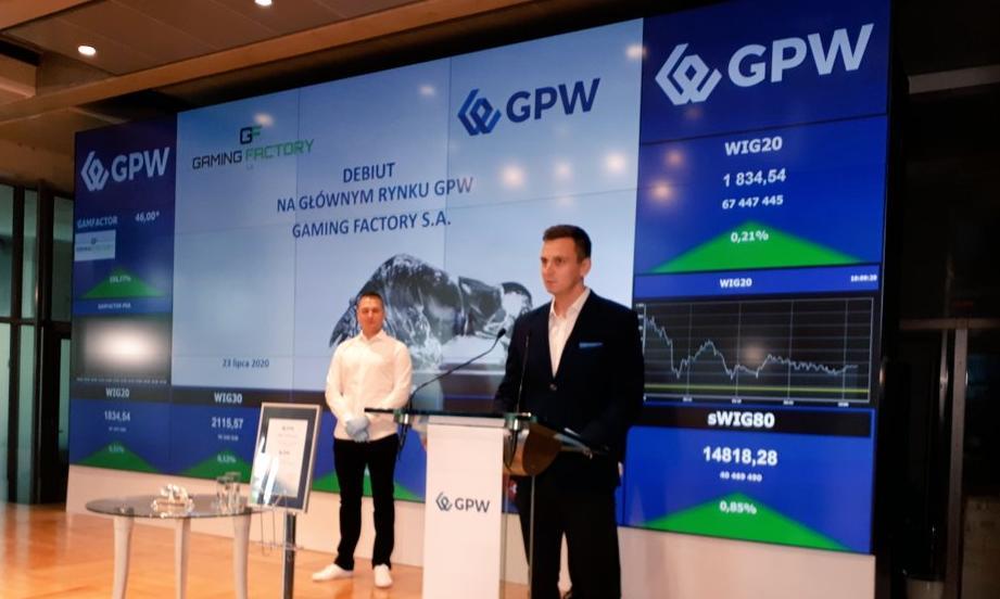 Silne wzrosty growego debiutanta na GPW