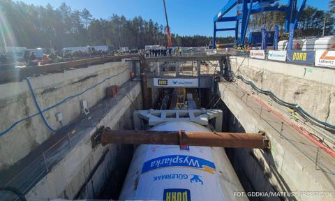 Rozpoczęło się drążenie tunelu w Świnoujściu