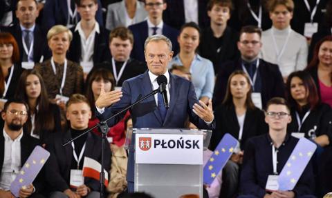 Tusk: PiS i Kaczyński chcą wyprowadzić Polskę z UE. Ja to wiem