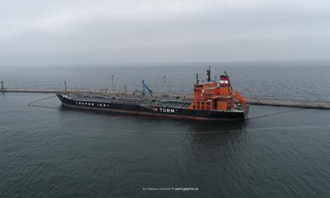 Do Portu Gdynia przypłynął największy w tym roku tankowiec