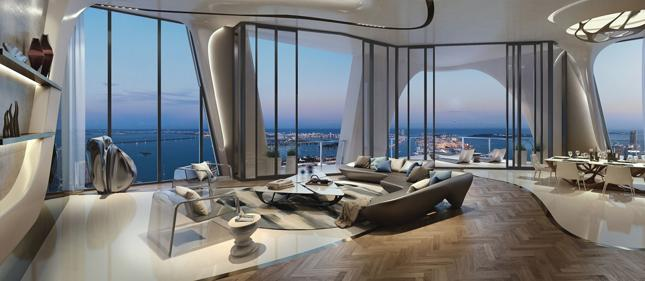 One Thousand Museum by Zaha Hadid Architects, Miami