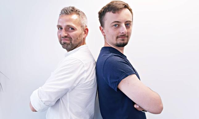 W tym wydaniu #naBankiera swoje tematy proponują (od lewej) Grzegorz Marynowicz i Bartłomiej Godziszewski