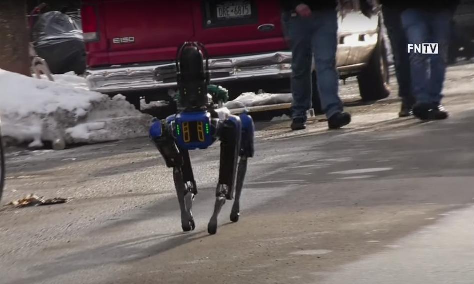 Kontrowersje wokół psa-robota w nowojorskiej policji