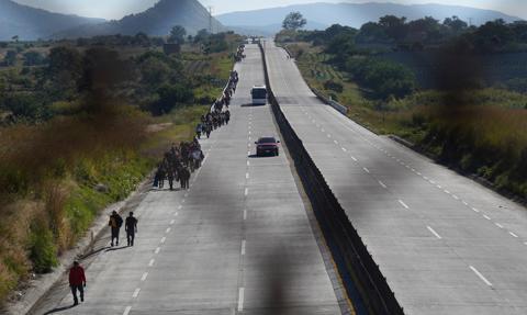 Migracja z Ameryki Środkowej nadal jest na poziomie kryzysowym