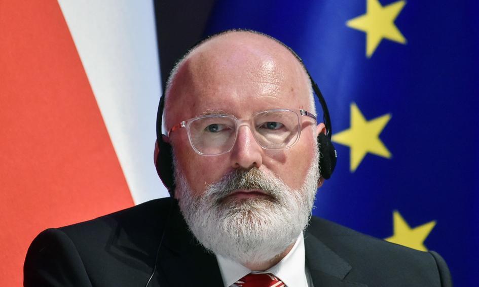Timmermans: Jeśli chodzi o polską transformację węglową, to jestem optymistą