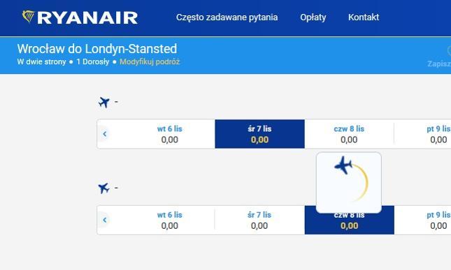 Przerwa techniczna w Ryanairze. Nie będzie działała strona internetowa i aplikacja mobilna