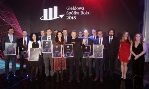 Giełdowa Spółka Roku 2018 - poznaj najlepsze spółki notowane na GPW