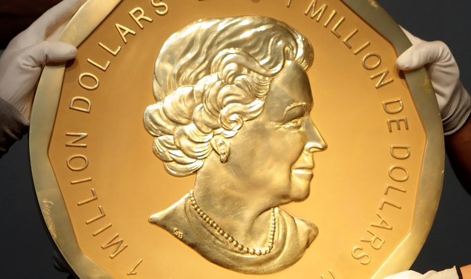 """Miliony odszkodowania dla właściciela skradzionej monety """"Wielki Liść Klonu"""""""