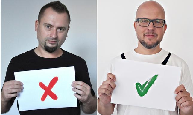 Wojciech Boczoń i Michał Kisiel, redaktorzy Bankier.pl. Jeden z nich podejmie temat, który wskażą czytelnicy