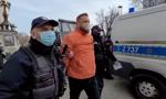 Strajk przedsiębiorców w Warszawie. Zatrzymano Pawła Tanajno