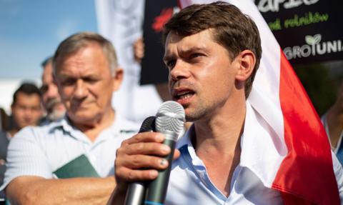 Protest rolników w Warszawie. Lider AGROunii: Będzie ostro