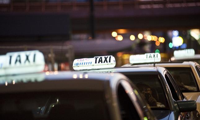Epidemia wycina taksówki