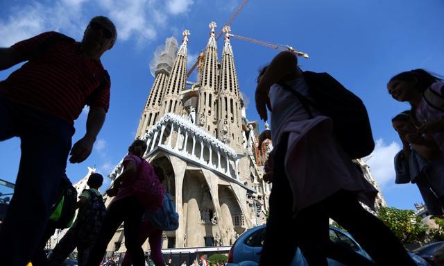 Sagrada Familia w Barcelonie nie ma pozwolenia na budowę