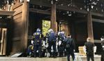 Chinki podejrzane o zniszczenia w świątyni w Tokio