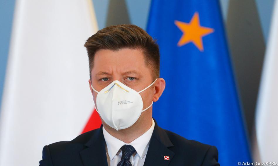 Szef KPRM Michał Dworczyk zakażony koronawirusem