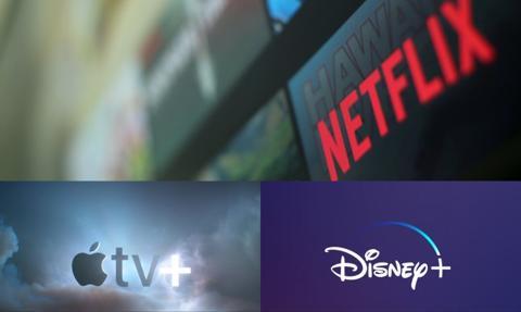 Netflix niezagrożony? Disney+ i Apple TV+ zostaną w tyle