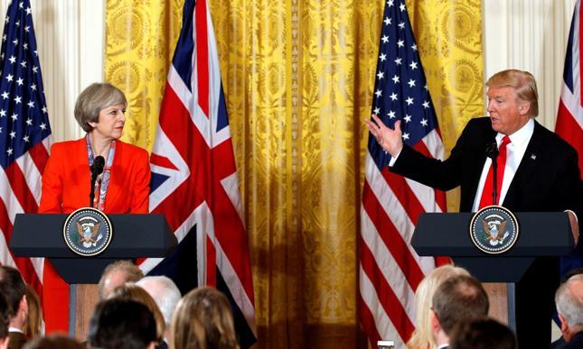Trump krytykuje przebieg negocjacji ws. brexitu