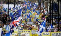 Setki tysięcy osób protestują w Londynie przeciwko brexitowi