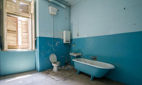 Ponad milion mieszkań wciąż nie ma dostępu do łazienki