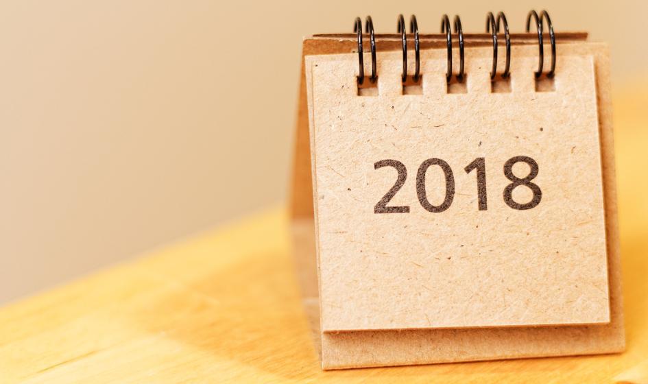 Kalendarium sezonu wynikowego na GPW – 2018 rok