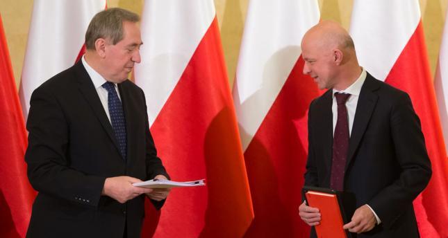 Henryk Kowalczyk i Paweł Szałamacha