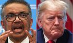Szef WHO odpowiada na krytykę prezydenta USA